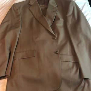 Nordstrom suit jacket and pants 46R